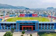 Provincia norteña de Quang Ninh invierte en renovación del estadio Cam Pha ante los SEA Games 31
