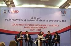 Lanzan proyecto sobre desarrollo sostenible de sanidad pública de Vietnam