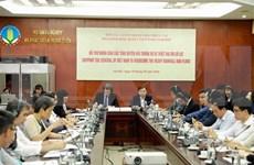 Vietnam destaca ayuda de organizaciones internacionales en prevención contra desastres naturales