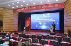 Lanzan primera plataforma de minería de datos desarrollada por vietnamitas
