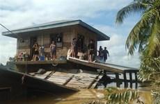 Filipinas evacua a casi 10 mil personas por lluvias torrenciales