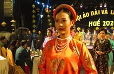 Concluyen Festivales de Ao Dai y de Gastronomía de Ciudad Imperial de Hue