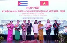 Fortalecen amistad y oportunidades de inversión entre Vietnam y Cuba