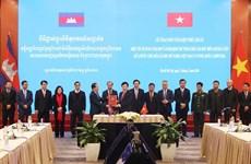 Entran en vigor documentos legales sobre demarcación fronteriza Vietnam-Camboya