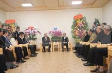 Felicita dirigente vietnamita a diócesis de Da Lat e Iglesia Evangélica por Navidad