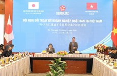 Diálogo busca resolver problemas para empresas japonesas en Vietnam