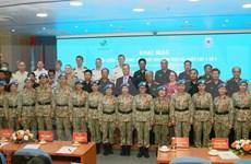 Tercer hospital de campaña de Vietnam, en último preparativo para misiones de paz