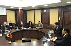 Vietnam y Ucrania fortalecen nexos de cooperación comercial