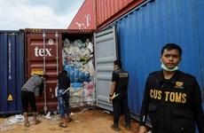 Indonesia devolverá 79 contenedores de desechos peligrosos a sus países de origen