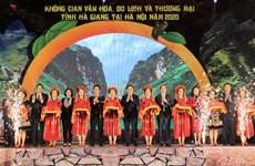 Espacio cultural, turístico y comercial de Ha Giang en el corazón de Hanoi