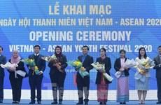 Inauguran Festival de la Juventud Vietnam-ASEAN 2020