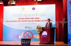 Vietnam persiste en minimizar el consumo de tabaco en los jóvenes
