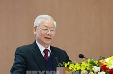 Máximo dirigente de Vietnam: 2020, un año de grandes desafíos y éxitos