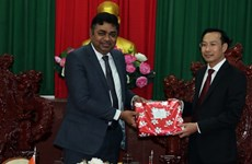 Provincia vietnamita de Kien Giang promueve cooperación con localidades indias