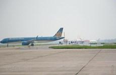 Reanudarán operación de pista en remodelación del Aeropuerto de Noi Bai