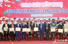 Celebran intercambio amistoso entre estudiantes vietnamitas e internacionales