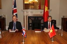 Firma de UKVFTA, punto de inflexión en relaciones Vietnam-Reino Unido