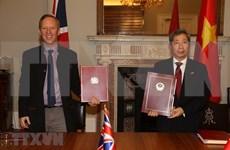 Tratado de libre comercio contribuye a profundizar asociación estratégica Vietnam- Reino Unido