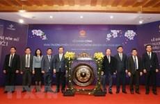 Mercado bursátil de Vietnam abre primera sesión en 2021