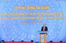 Lanza Vietnam Año Nacional de Seguridad de Tráfico 2021