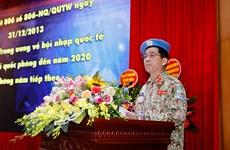 Vietnam envía a 179 combatientes a misiones de paz en período 2012-2020