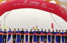 Concluyen en Hanoi la reparación del puente Thang Long