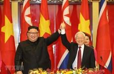 Máximo dirigente de Vietnam felicita a nuevo secretario general del Partido de los Trabajadores de Corea