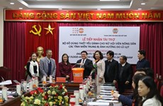 UNFPA brinda ayuda a mujeres y niñas en provincias centrales de Vietnam
