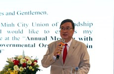 Ciudad Ho Chi Minh espera recibir más apoyo de ONG extranjeras
