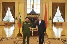 China y Myanmar robustecen cooperación bilateral