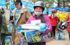 Empresa minorista vietnamita y socios globales ofrecen regalos del Tet a hogares pobres