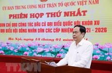 Promueven papel del Frente de la Patria de Vietnam en elecciones generales
