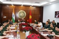 Sesiona XIII diálogo de política de defensa Vietnam-India