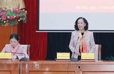 Trabajo de masas promueve espíritu de gran unidad nacional en Vietnam