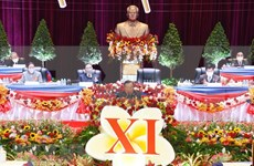 Laos establece seis objetivos de desarrollo socioeconómico para periodo 2021-2025
