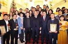 Honran a VNA en Premio sobre construcción del Partido Comunista de Vietnam