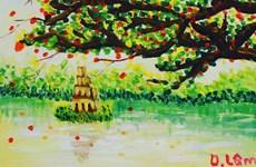 Exhibirán en Hanoi pinturas realizadas por niños con autismo