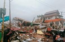 Reportan siete muertos por terremoto en centro de Indonesia