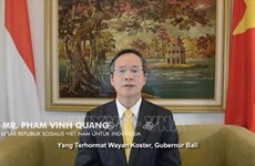 Promueven nexos de amistad entre Vietnam e Indonesia
