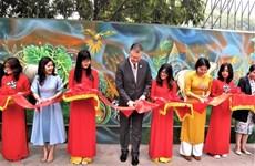 Inauguran mural sobre protección de medio ambiente en Hanoi