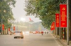 Hanoi reajusta actividades de transporte durante XIII Congreso Nacional del Partido Comunista