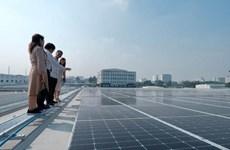 En servicio tejado solar en aeropuerto internacional de Tan Son Nhat