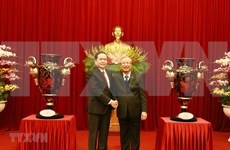 Pueblo vietnamita espera éxito para el XIII Congreso Nacional del Partido