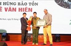 Segundo vietnamita reconocido como héroe de conservación de Disney