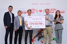 Maratón caritativo recauda fondos a niños desfavorecidos en Vietnam