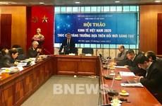 Promueven crecimiento económico de Vietnam basado en innovación y creatividad
