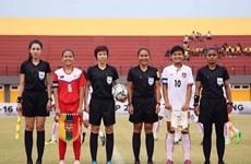 Tres árbitras vietnamitas reconocidas en grupo Élite por FIFA