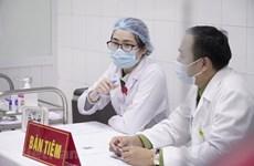 Continúa adelante en Vietnam segunda inyección de vacuna contra COVID-19