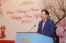 Ministerio vietnamita de Relaciones Exteriores logra resultado positivo pese a COVID-19