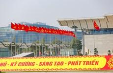 Hanoi lista para acoger el XIII Congreso Nacional del Partido Comunista de Vietnam